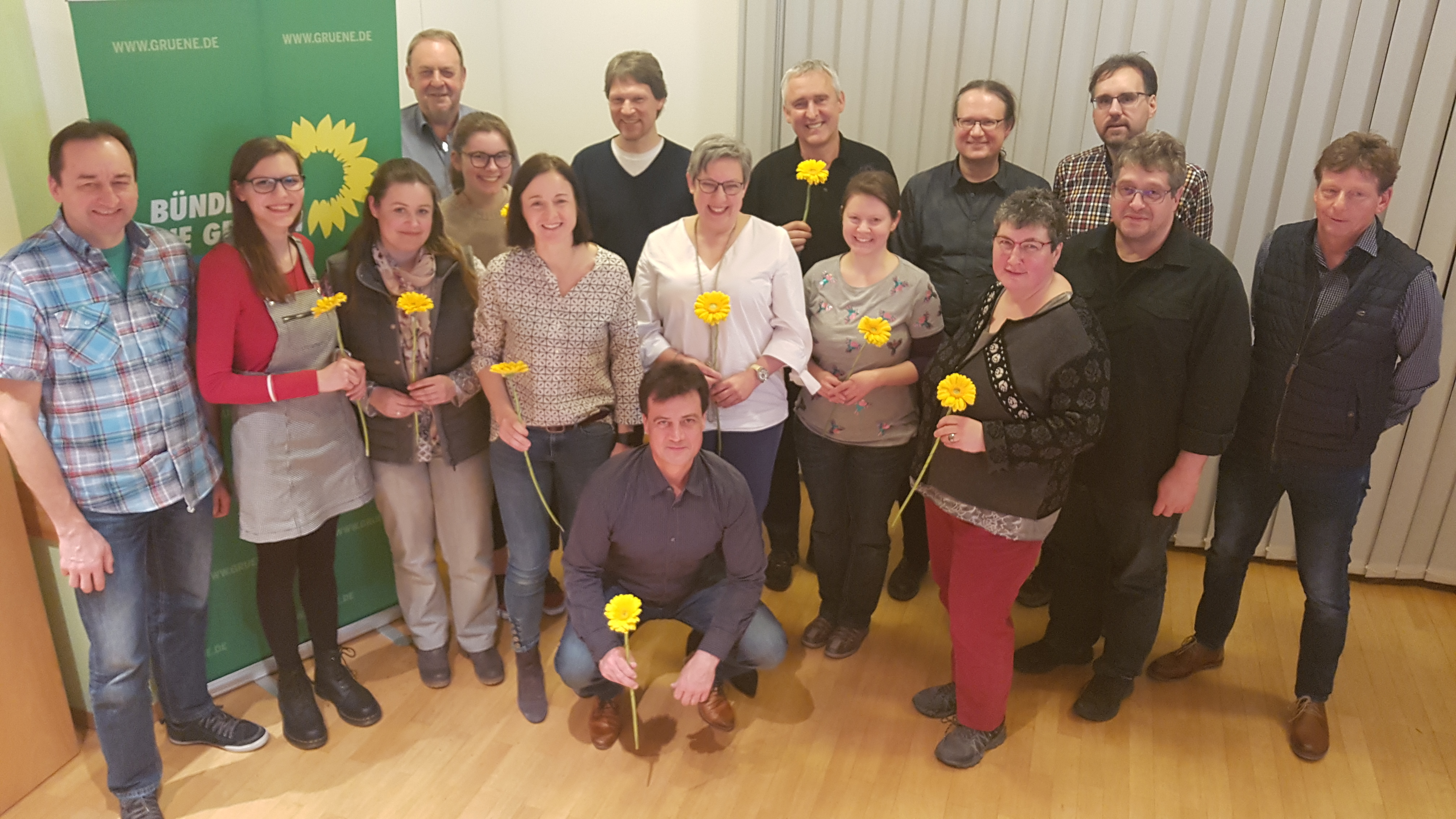 Nominierungsversammlung von Bündnis 90/Die Grünen in Ehningen für die Kommunalwahl 2019