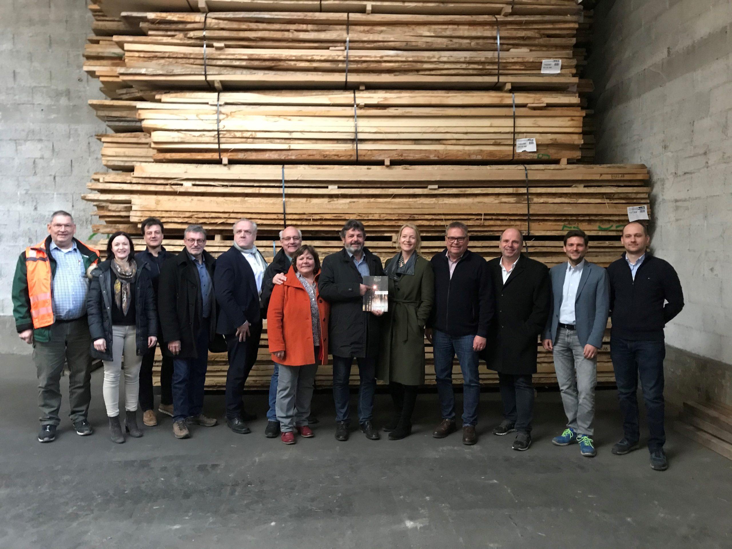 Besuch beim Holzwerk Keck in Ehningen