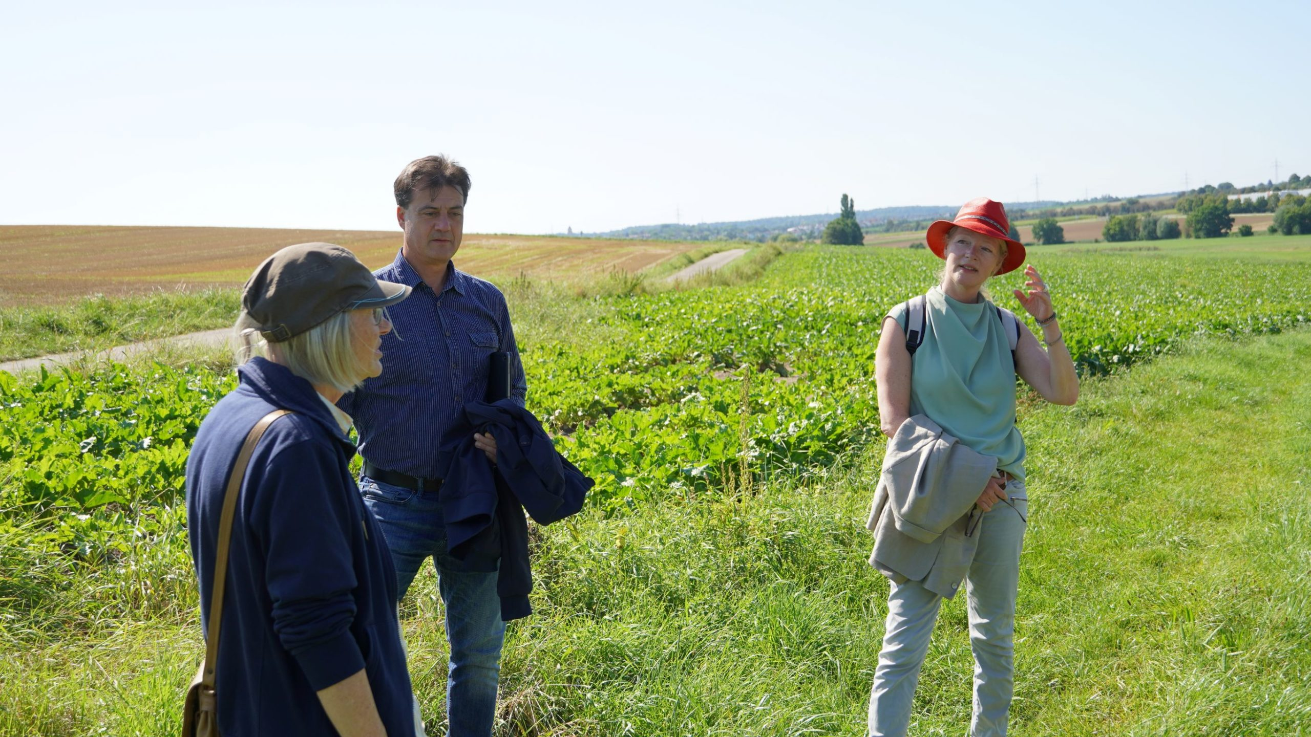 Thekla Walker in ihrem Landtags-Wahlkreis – Besuch in Ehningen